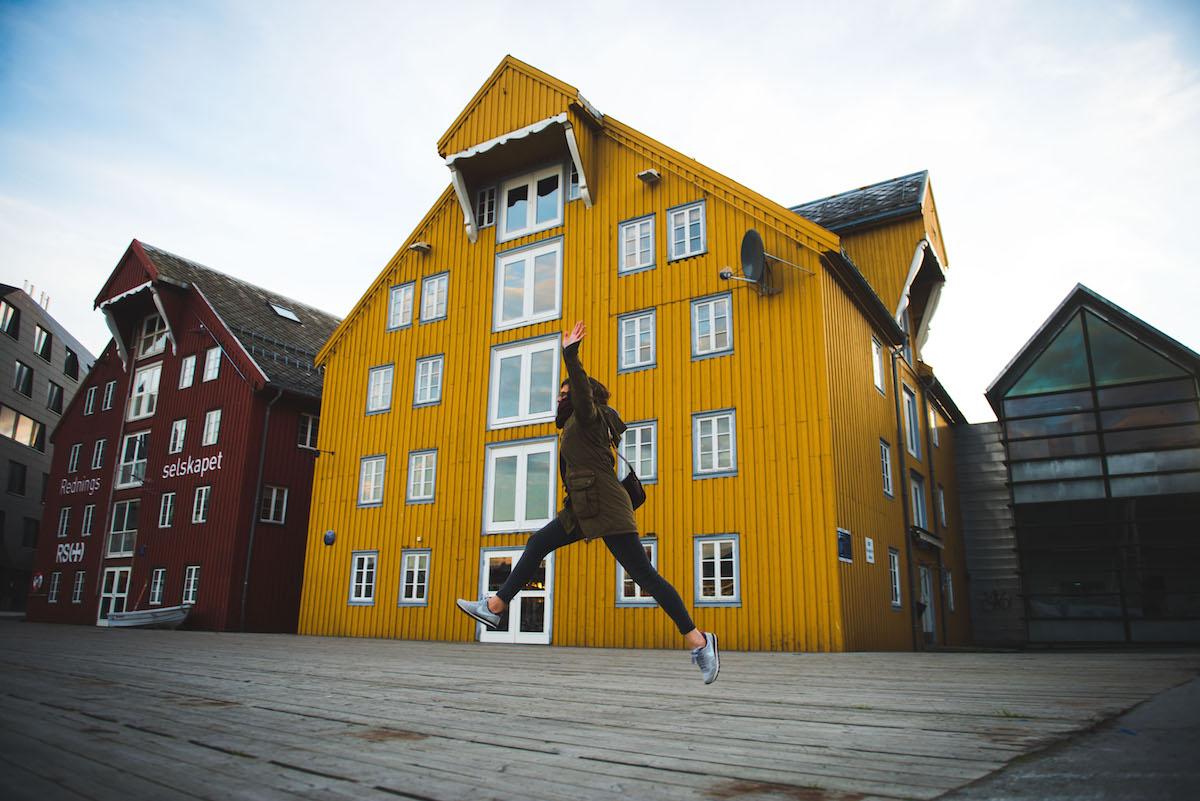 Norwegen-bunte-Häuser-1
