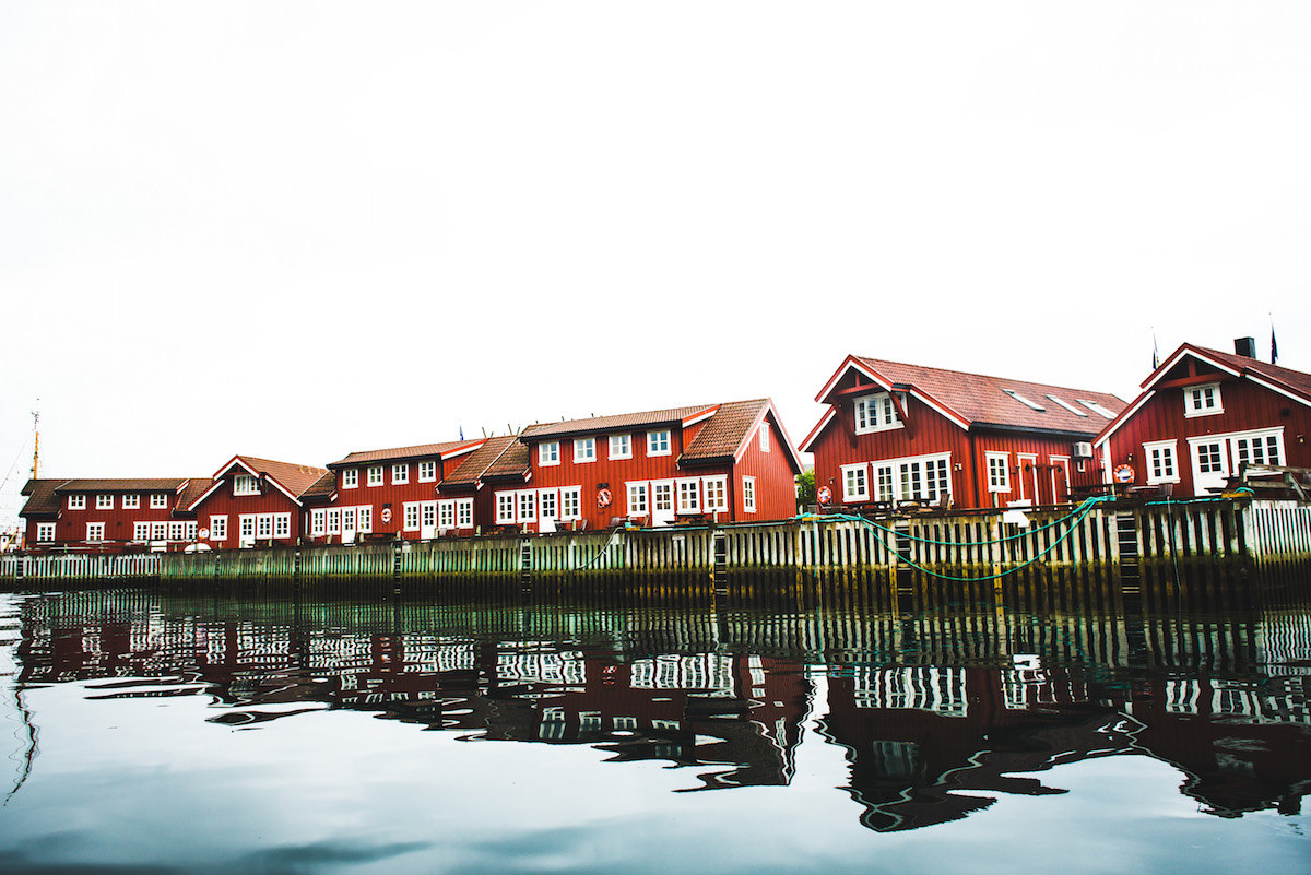 Norwegen-traditionelle-Häuser