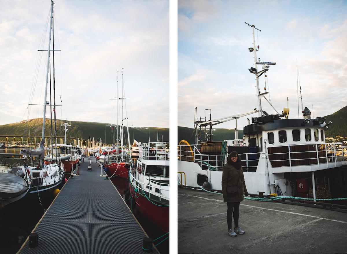 Tromso-Hafen-Fischerboot
