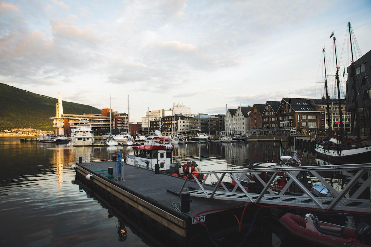 Tromso-Hafen