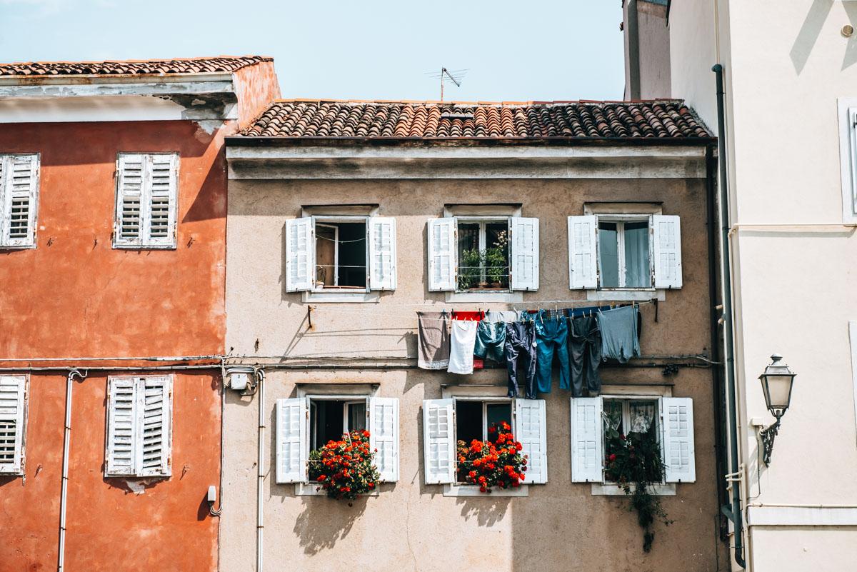 Alte Häuser Muggia