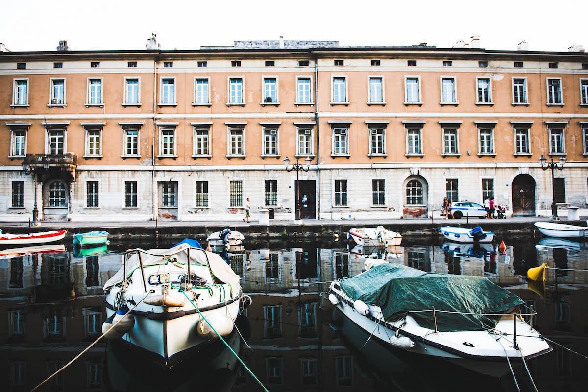 Canal-Grande-Triest-Fischerboote
