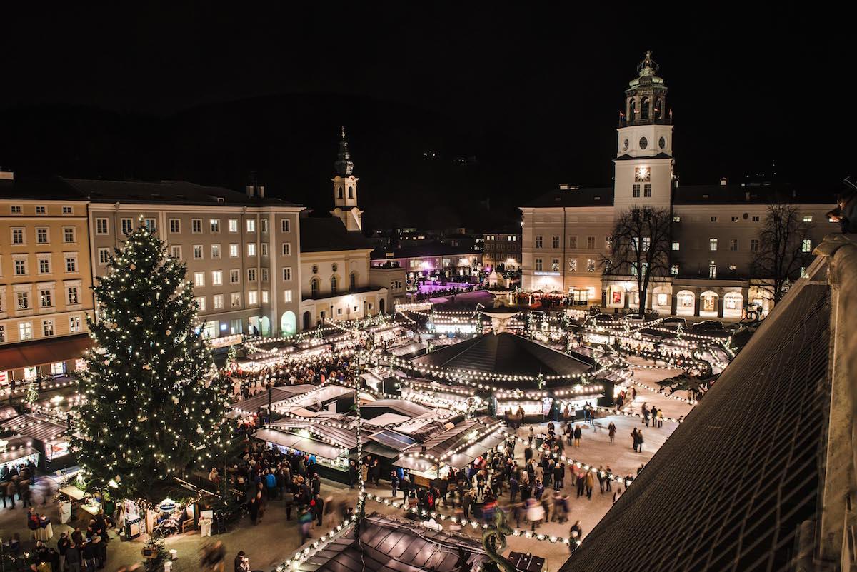 Christmas market Salzburg