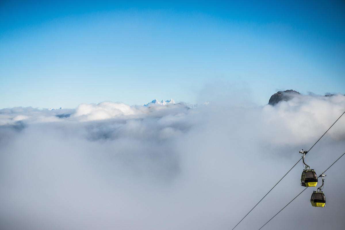 Großarltal Nebel