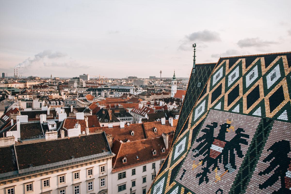 Stephansdom Nordturm Aussicht