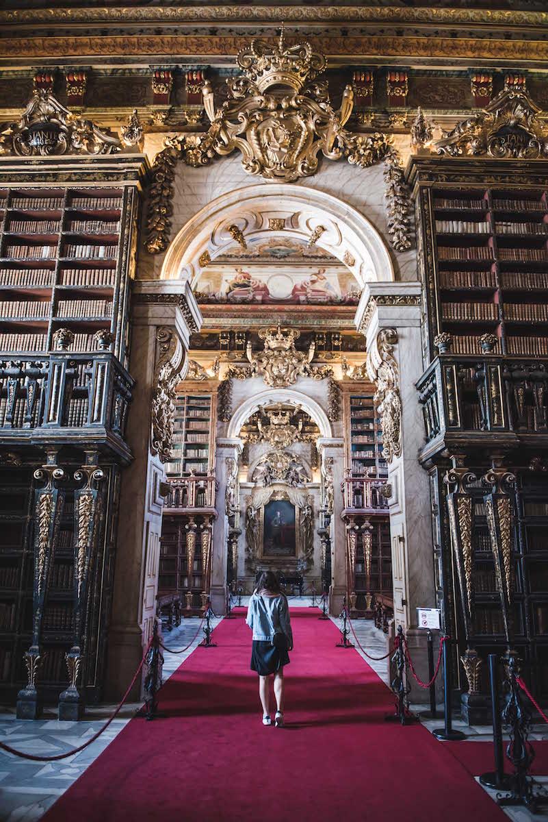 Coimbra Bibliothek