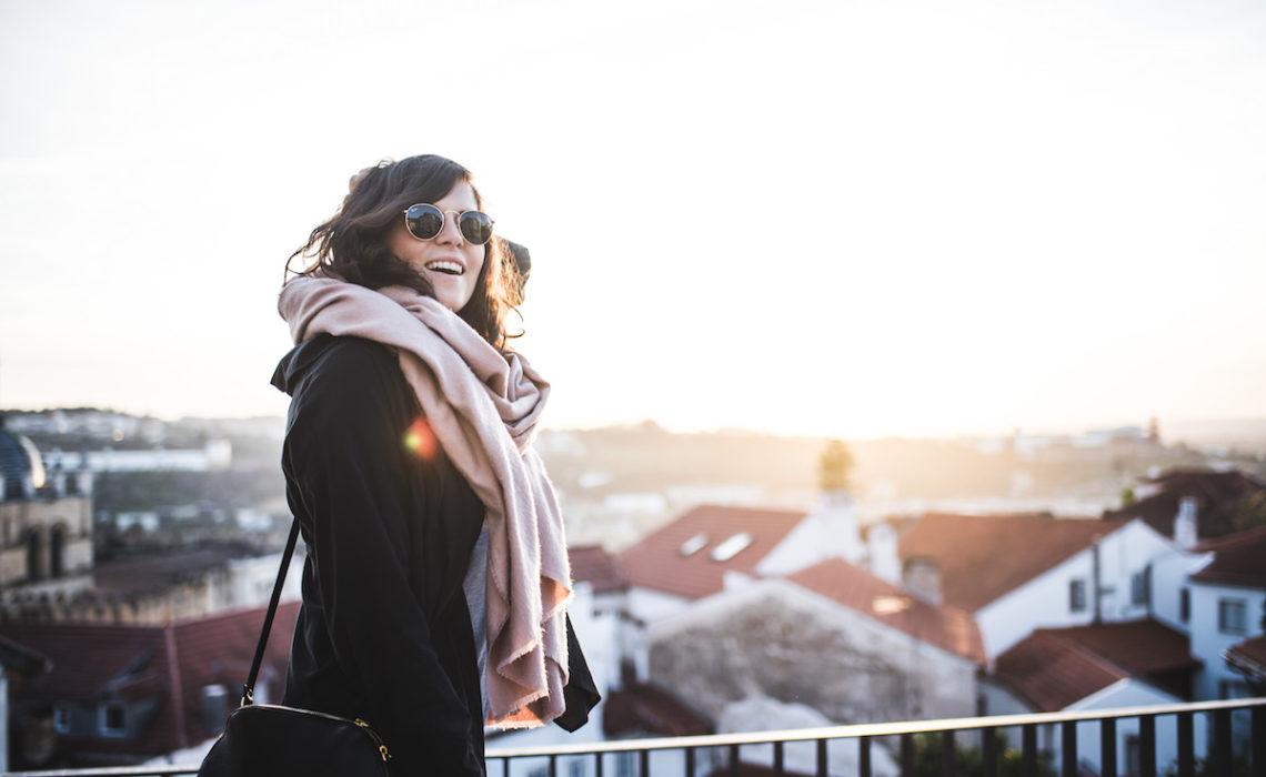 Coimbra Sonnenuntergang