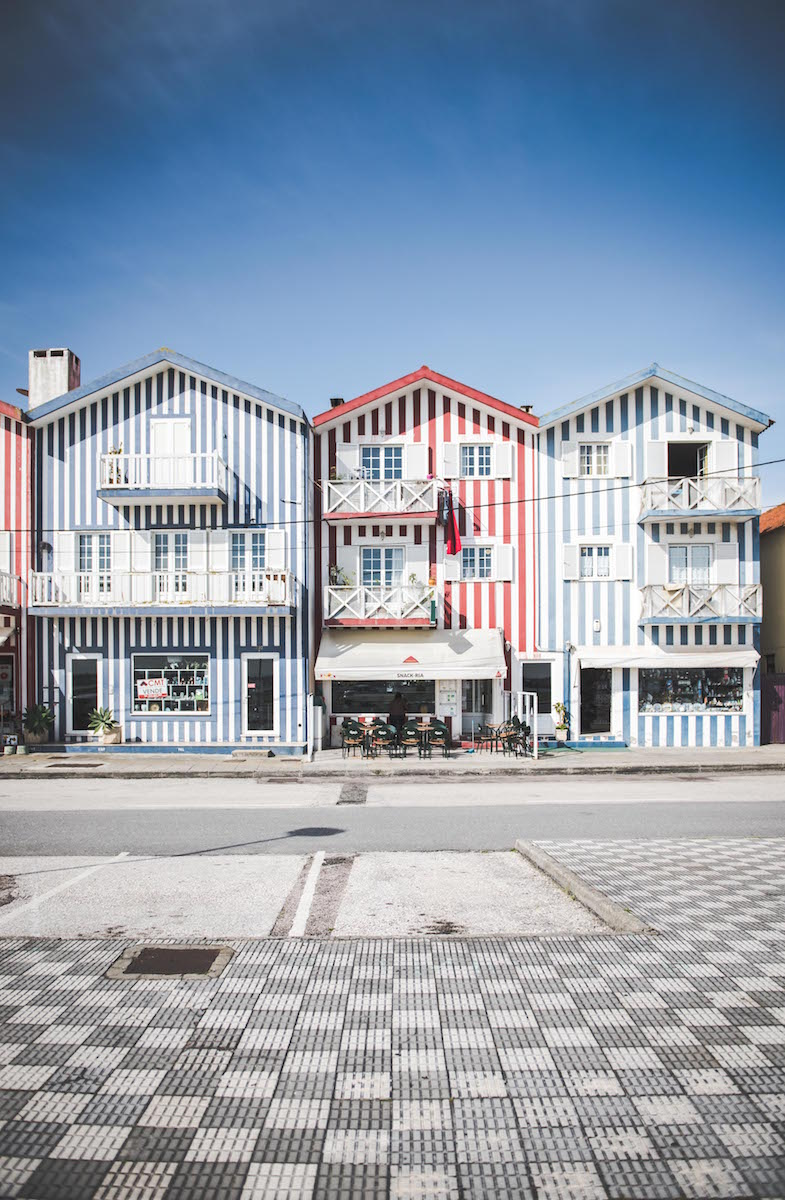 Costa Nova Häuser