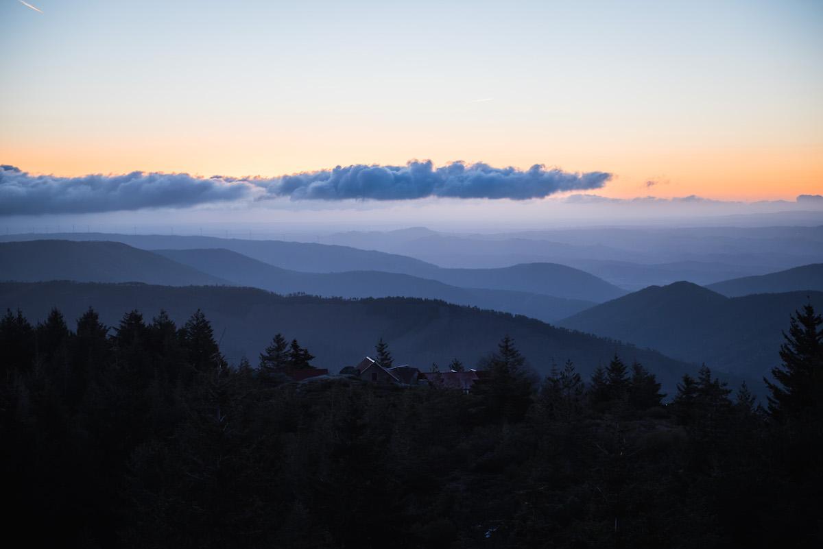 Serra-Estrela-Sonnenaufgang