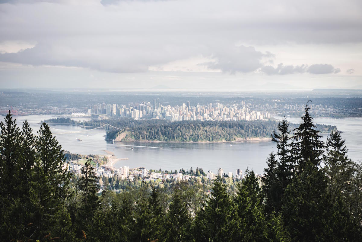 Cypress Mountain Ausblick