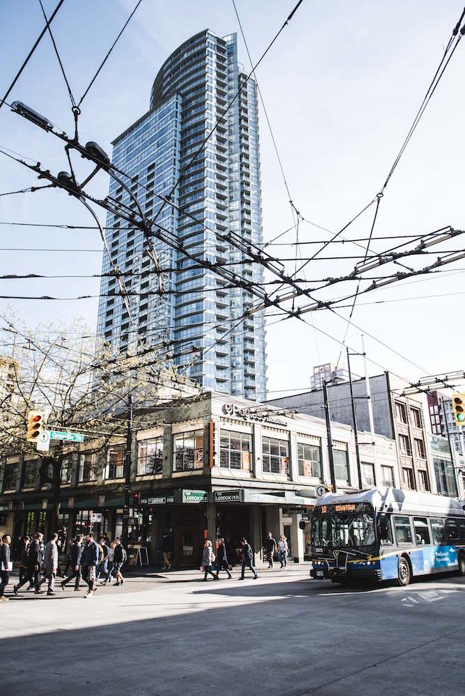Hochhäuser Vancouver