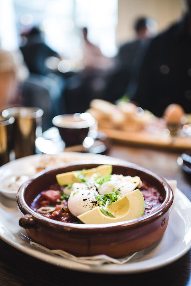 Vancouver Frühstück Cafe Medina