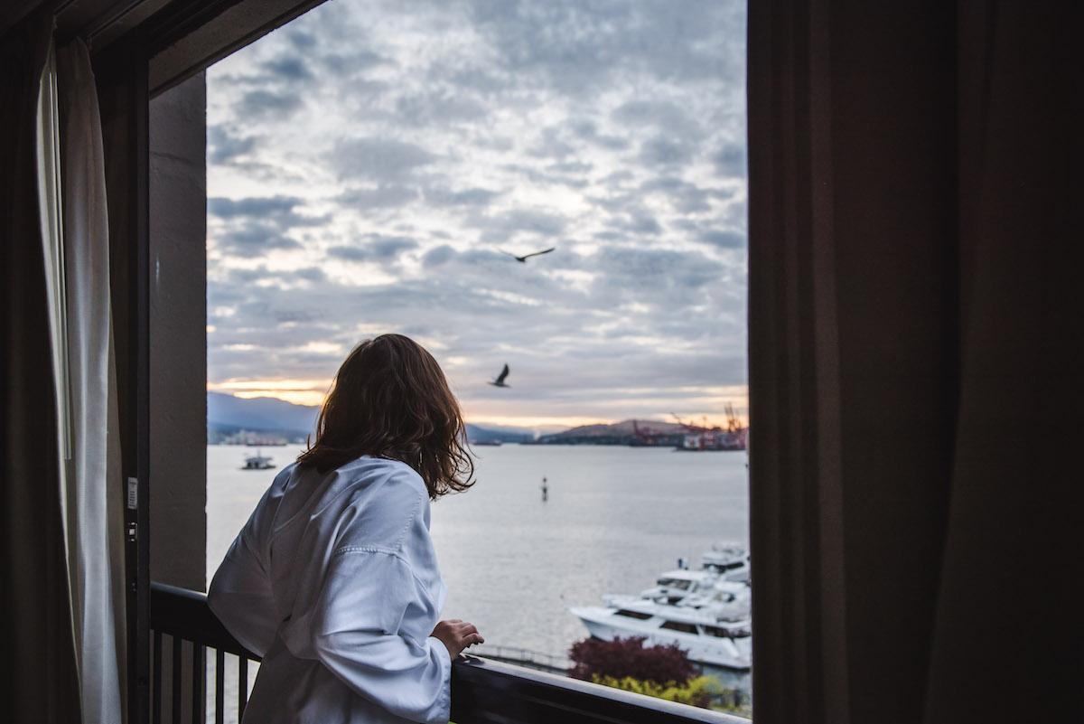 Westin-Bayshore Vancouver Ausblick