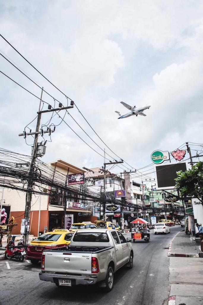 Flugzeug Koh Samui
