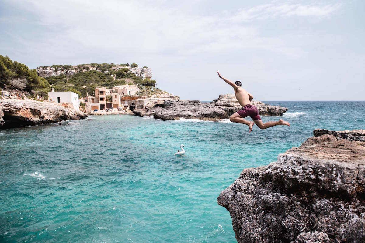 Klippenspringen Mallorca