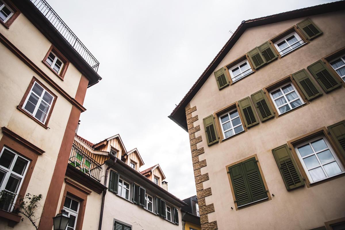 Bregenz alte Häuser