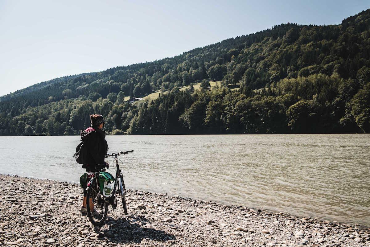 Donauradweg Oberösterreich