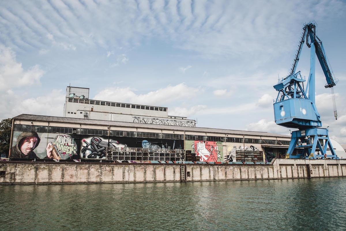 Mural Harbour Linz