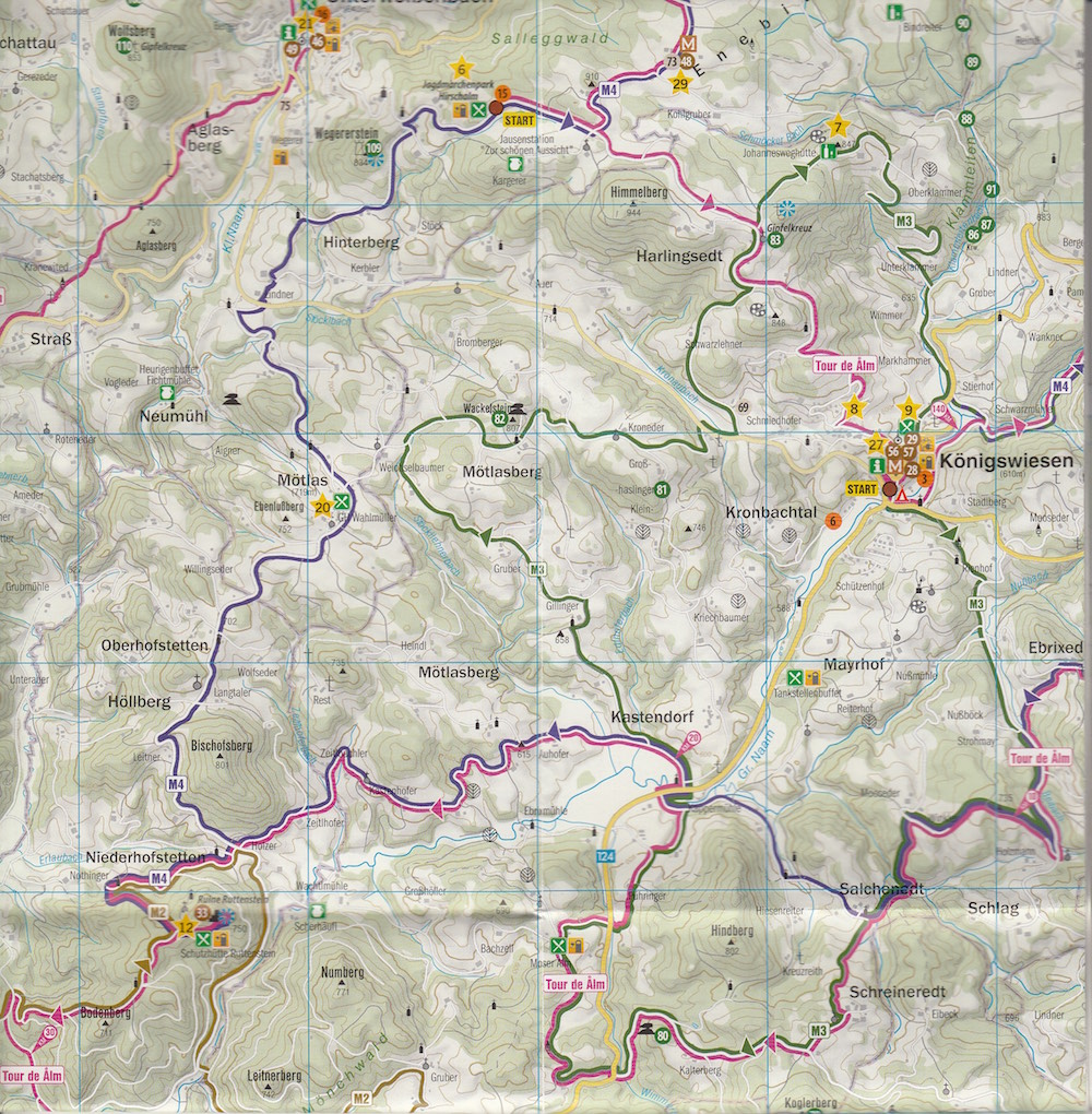 Route Mühlviertel Mountainbike
