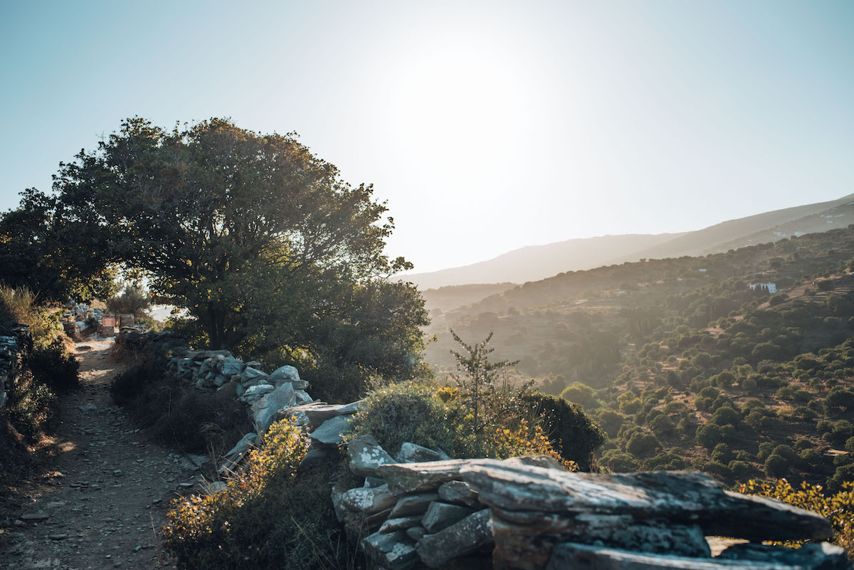 Andros Landschaft