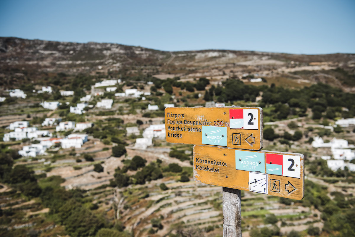 Andros Wandern Tipps