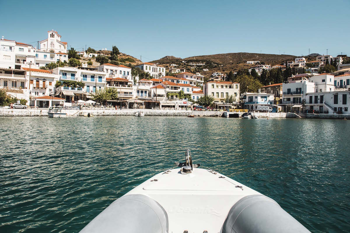 Boot Tour Andros Tipps