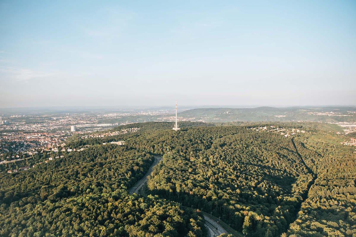 Fernsehturm Stuttgart Aussicht