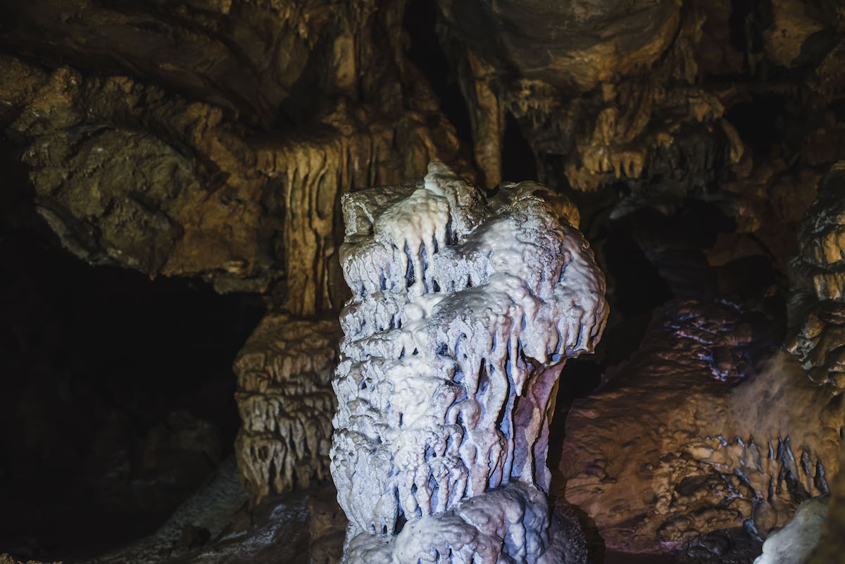 Foros Andros Höhle