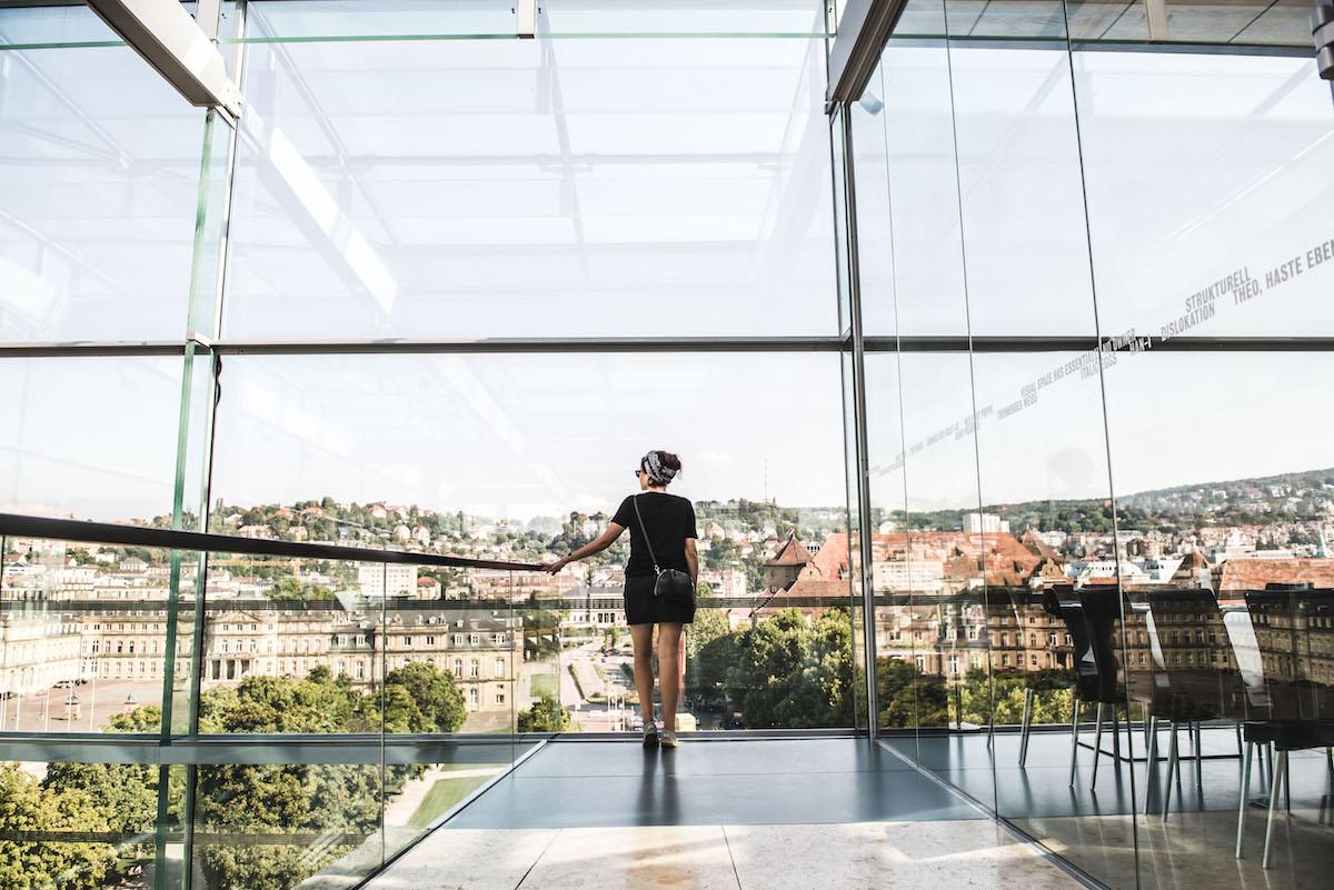 Kunstmuseum Stuttgart Aussicht