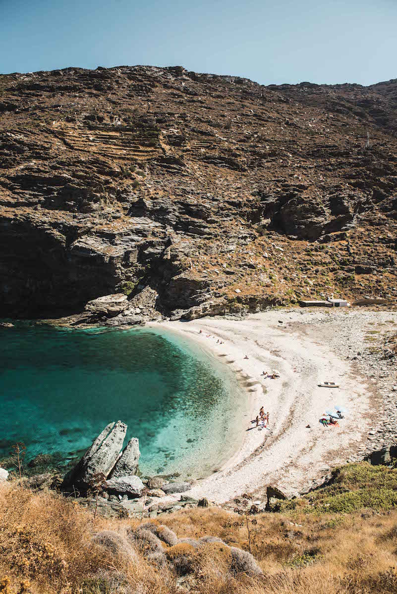 Strand Tipps Andros