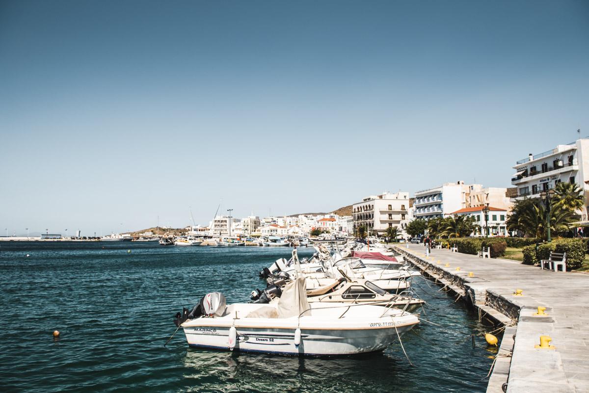 Tinos Hafen