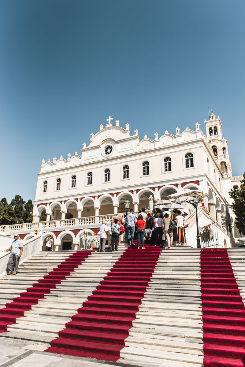 Tinos Wahlfahrtskirche