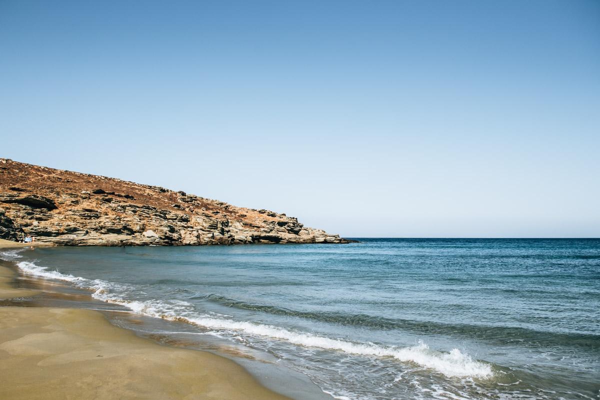 Tinos kleiner Strand
