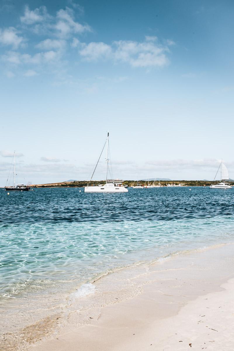 Formentera Strände Sand