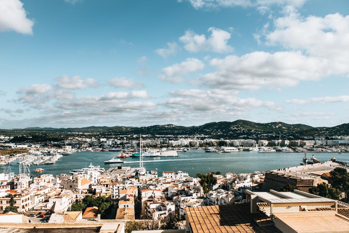 Ibiza Stadt Ausblick