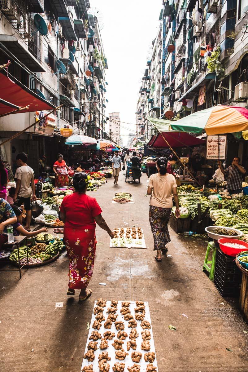 Markt Rangun Tipps