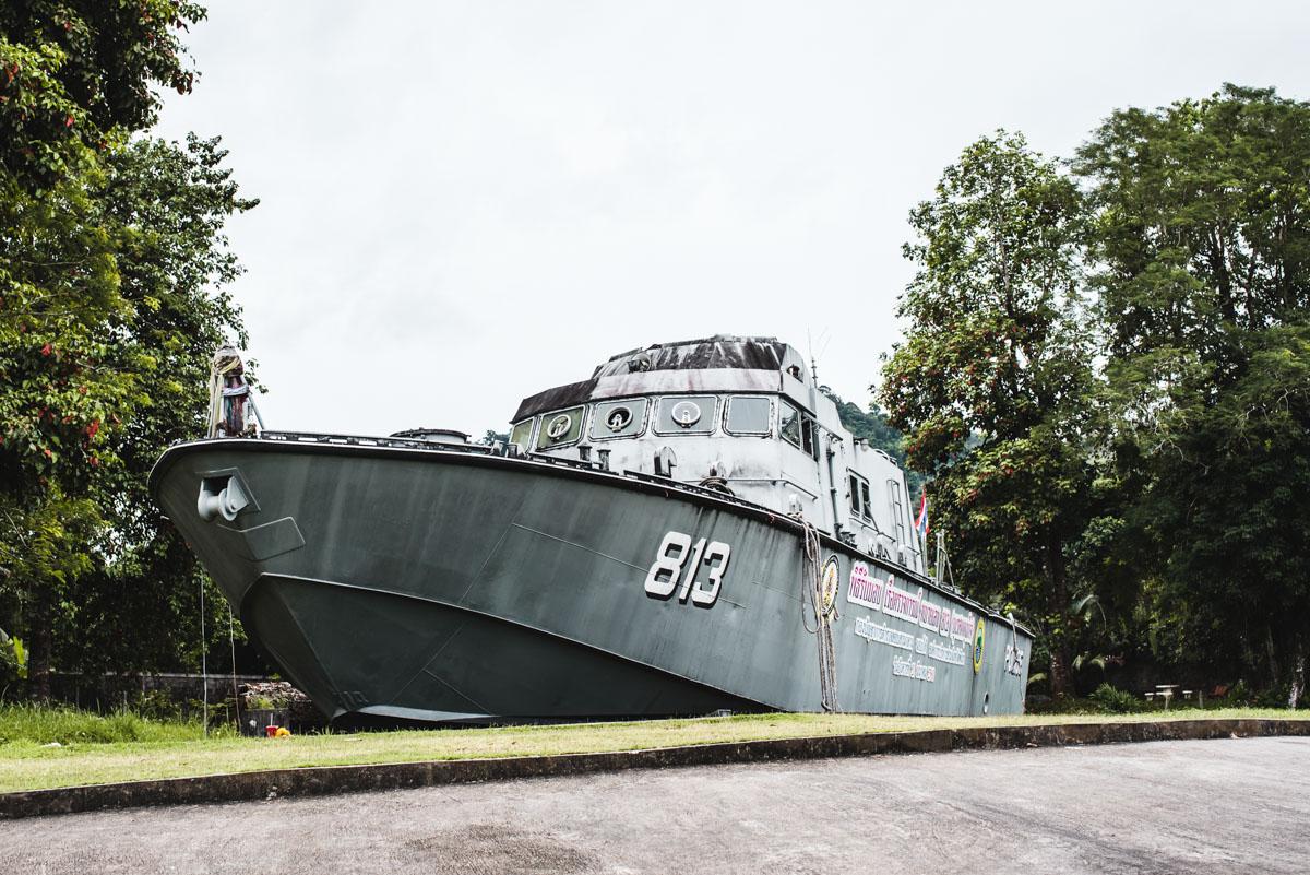 Polizeiboot Khao Lak