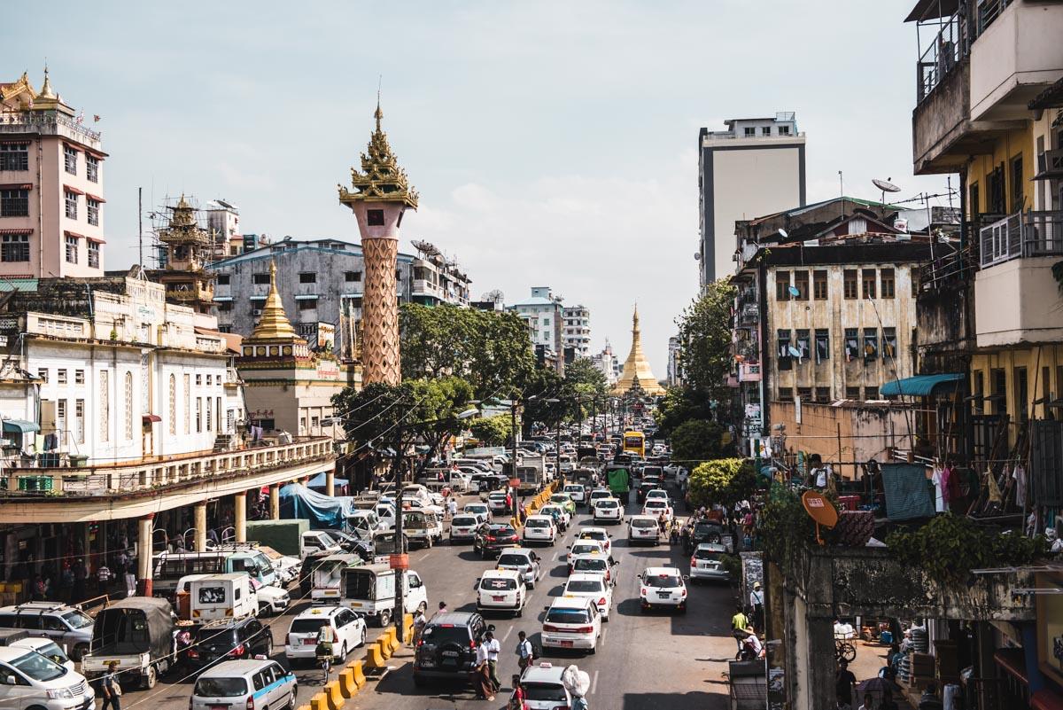 Uhrturm Yangon