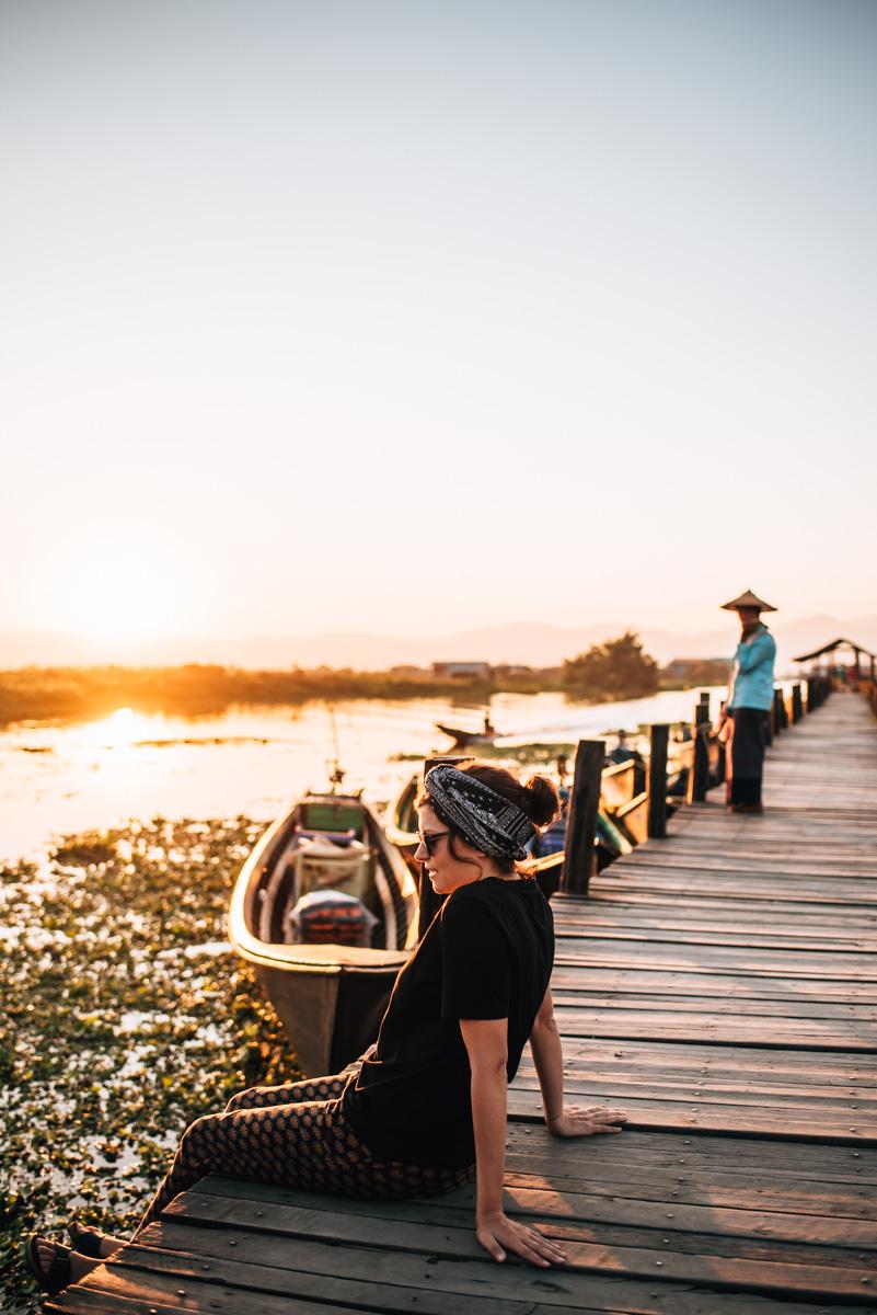 Brücke Inle See
