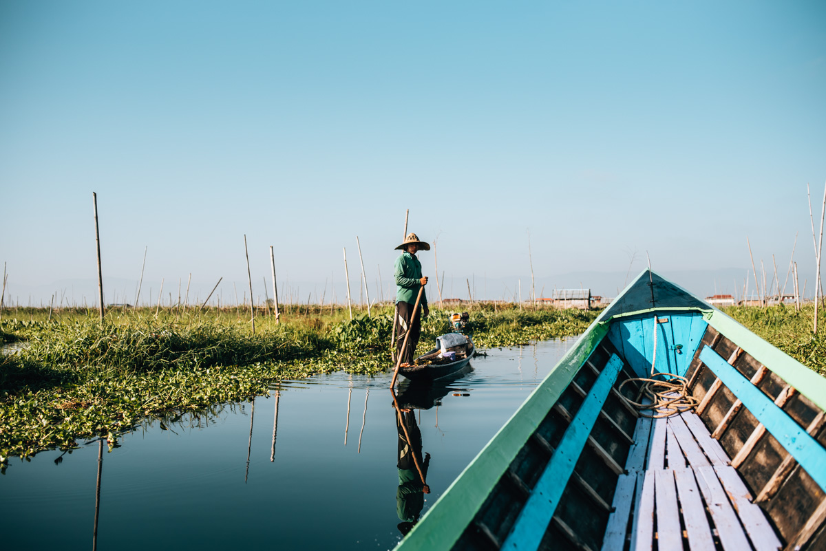 Inle See Boot