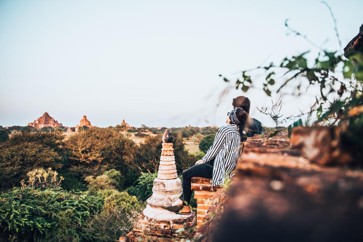 Pagode-Bagan Sonnenuntergang Tipps