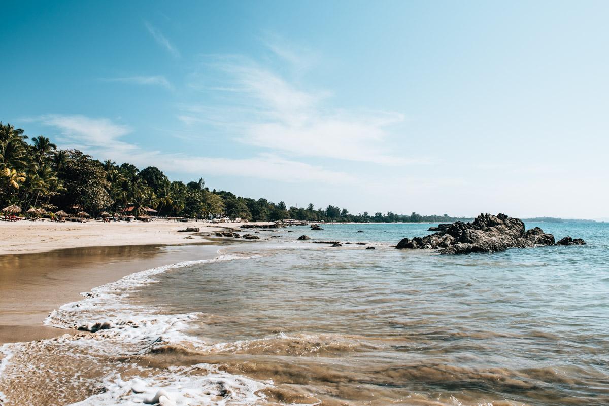 Schönster Strand Myanmar