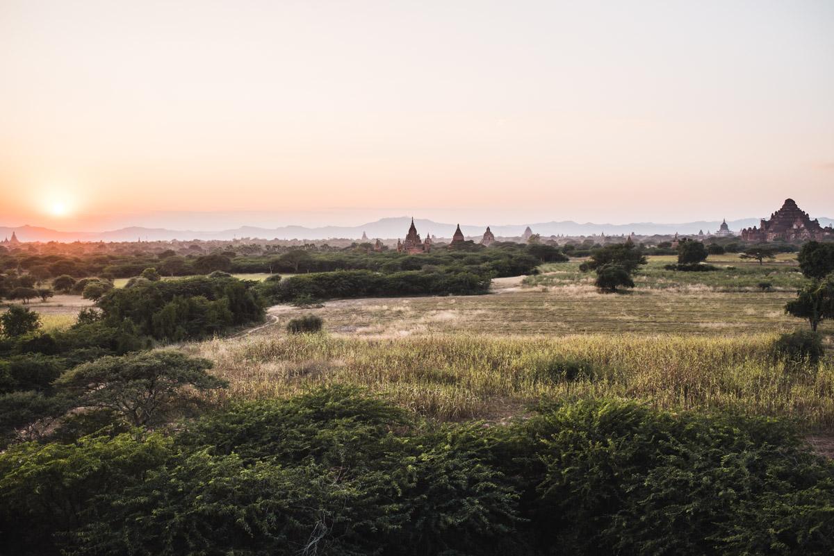 Sonnenuntergang Bagan Tipps