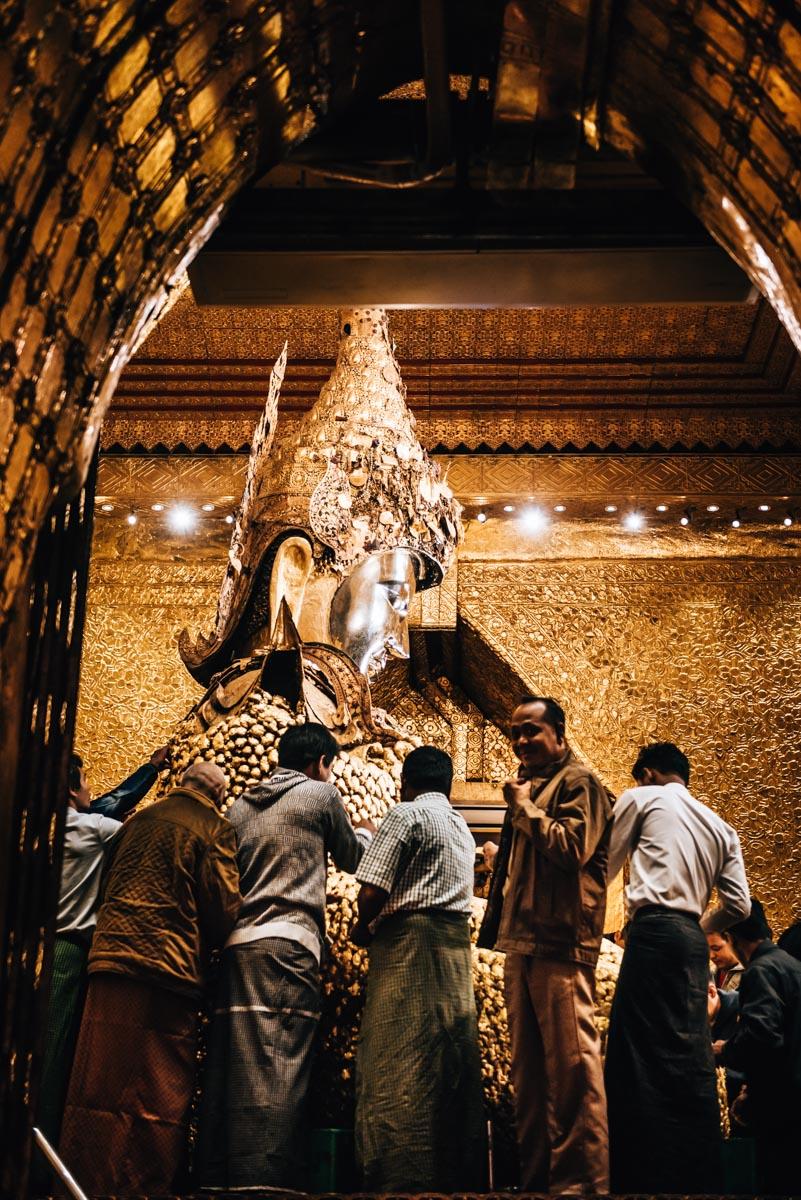 Mahamuni Mandalay Ausflug