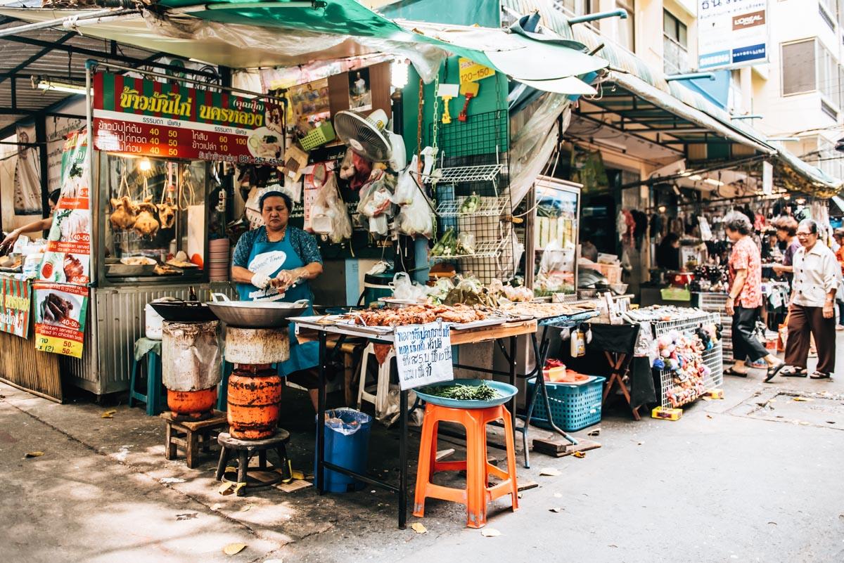 Markt Bangkok Geheimtipp