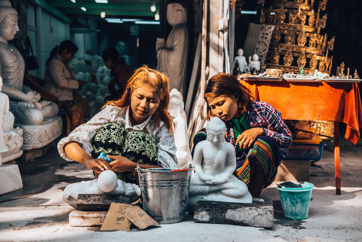 Steinmetze Mandalay