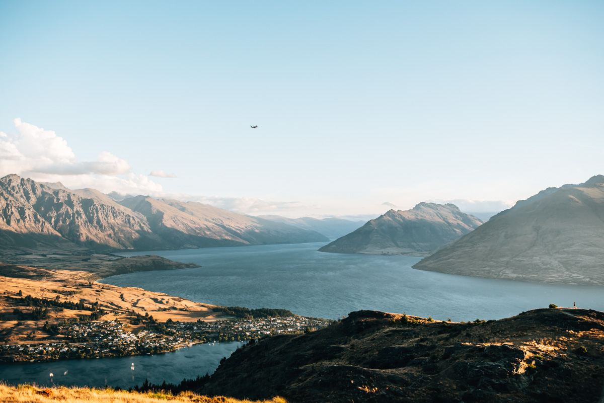 Queenstown Hill Ausblick