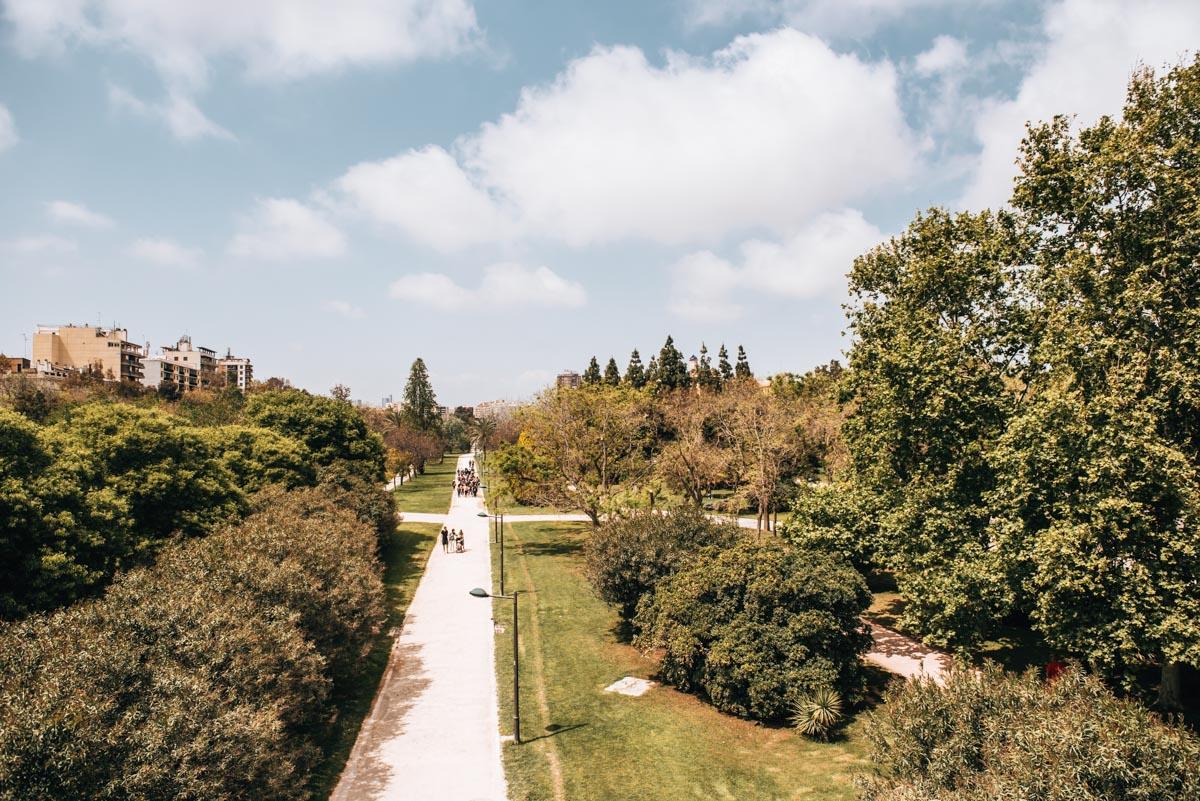 Flussbett Turia