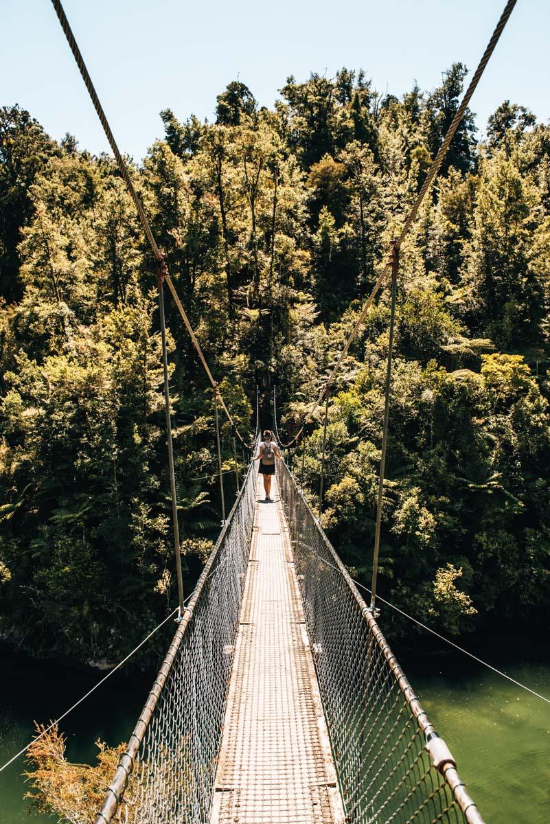 Hängebrücke Abel Tasman