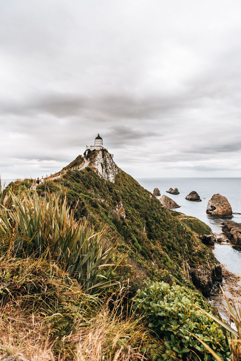 Lighthouse Nugget Point
